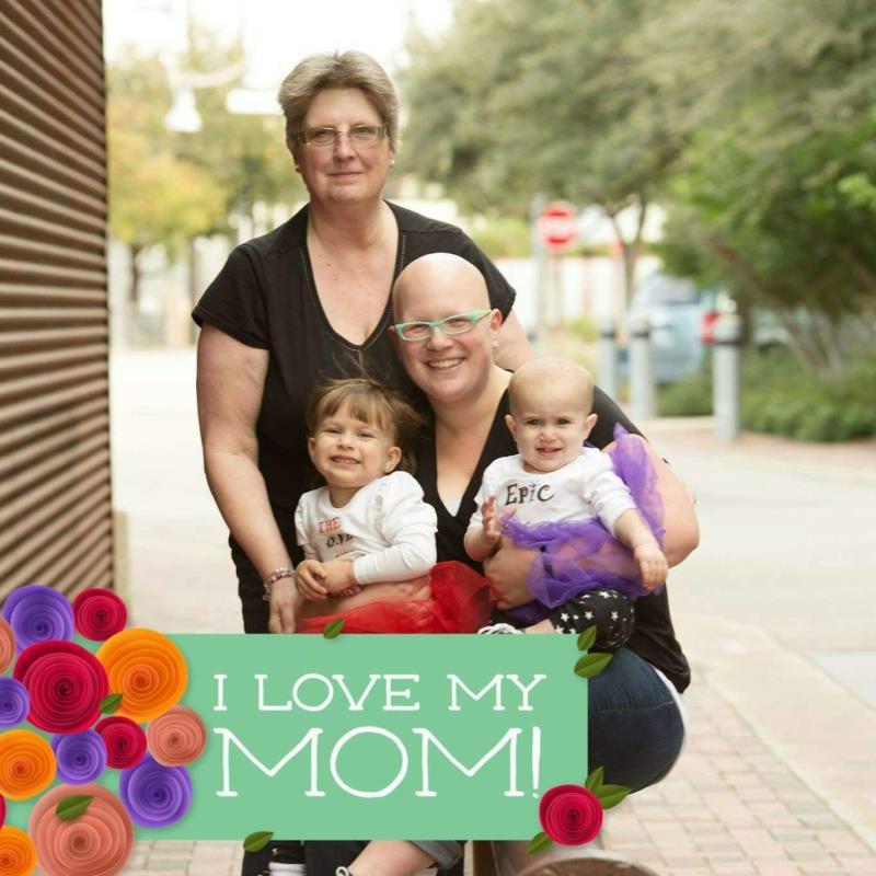 Dear Mom Postcard